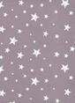 Hibboux Dream Like A Star Tek Kişilik Nevresim Takımı Lila